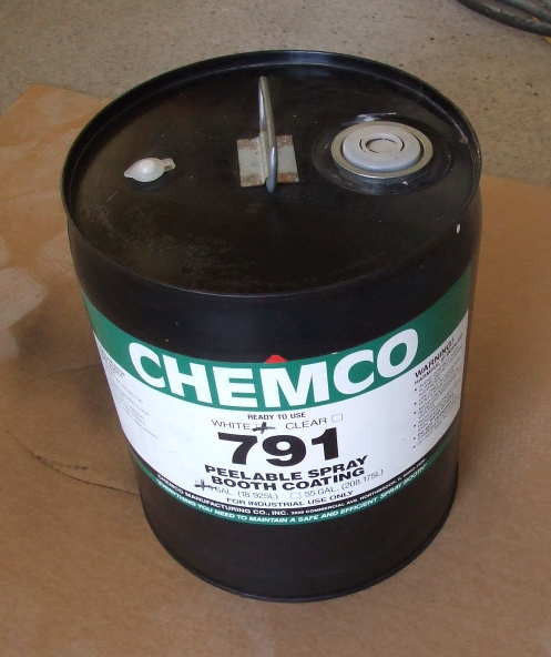 Primary image for New Chemco Removable Spray Booth Coating 5 gallon