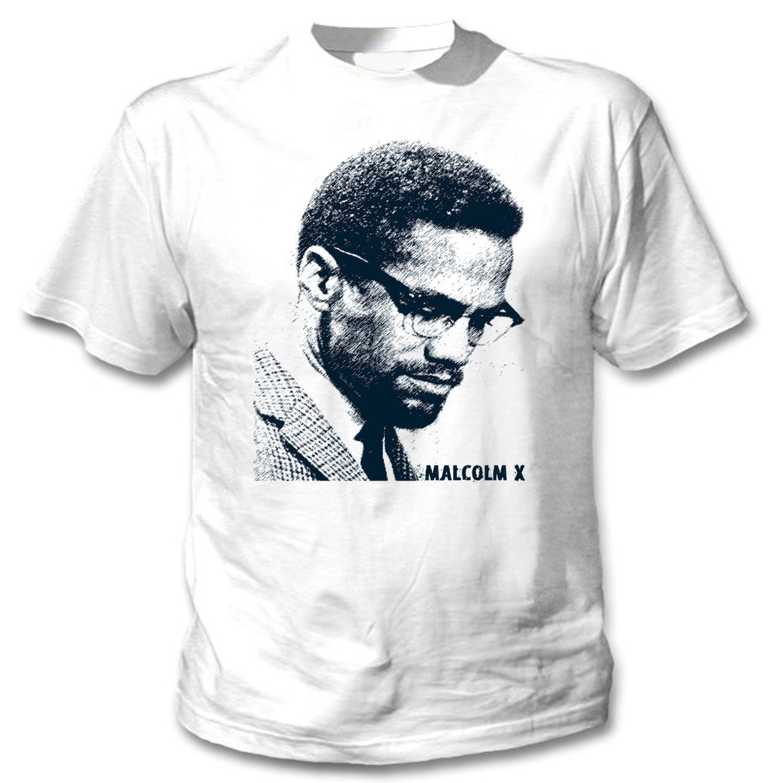 Primary image for MALCOLM X - NEW AMAZING GRAPHIC TSHIRT- S-M-L-XL-XXL