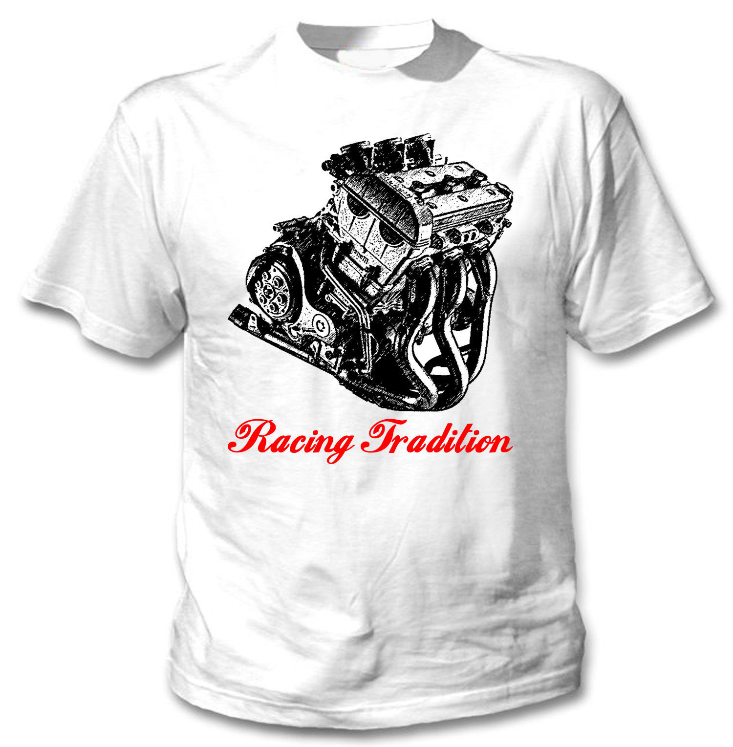Primary image for ITALIAN MOTORCYCLE TORNADO TRE ENGINE - NEW AMAZING GRAPHIC TSHIRT- S-M-L-XL-XXL