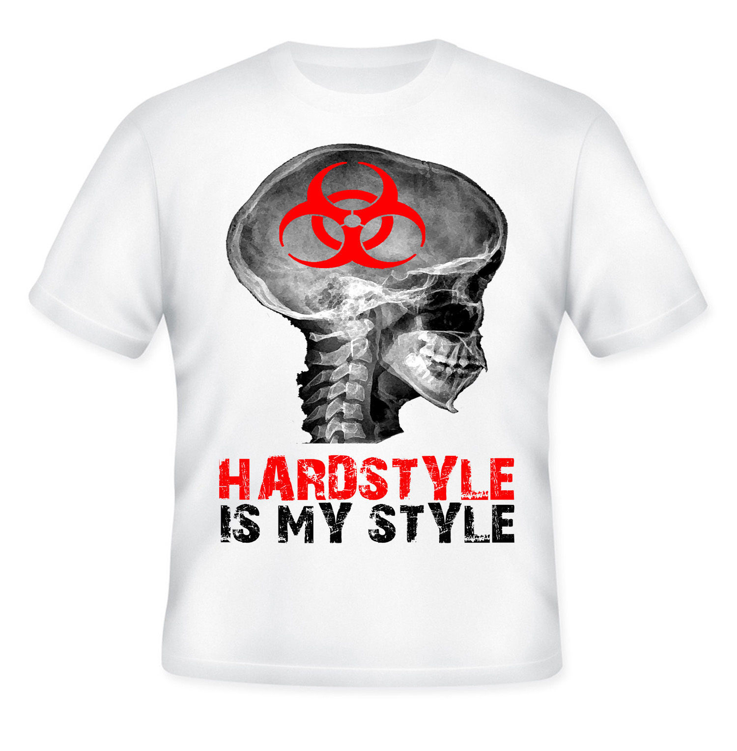 Primary image for HARDSTYLE - DJ STYLE NEW AMAZING GRAPHIC T-SHIRT - S-M-L-XL-XXL