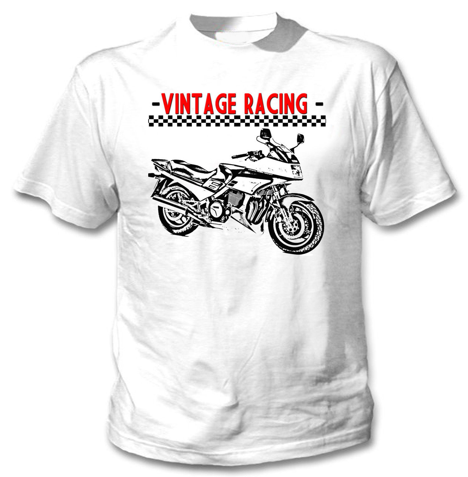 Primary image for JAPANESE VINTAGE RACING MOTORCYCLE 1200-NEW AMAZING GRAPHIC TSHIRT- S-M-L-XL-XXL