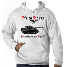 Tiger Panzer I Africa Korps  Germany Wwii   New Cotton Hoodie S M L Xl Xxl - $54.63