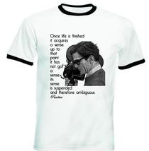 Pier Paolo Pasolini   New Black Ringer Tshirt S M L Xl Xxl - $26.46