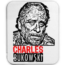 Charles Bukowski American Writer 5  Mouse Mat/Pad Amazing Design - $13.95