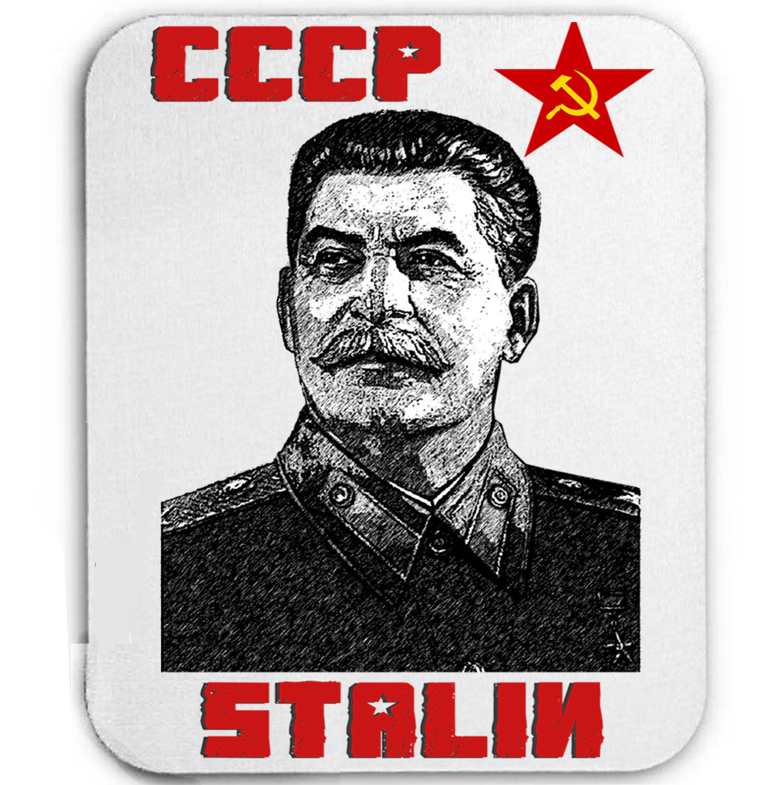 Primary image for STALIN COMMUNISM RUSSIA - MOUSE MAT/PAD AMAZING DESIGN