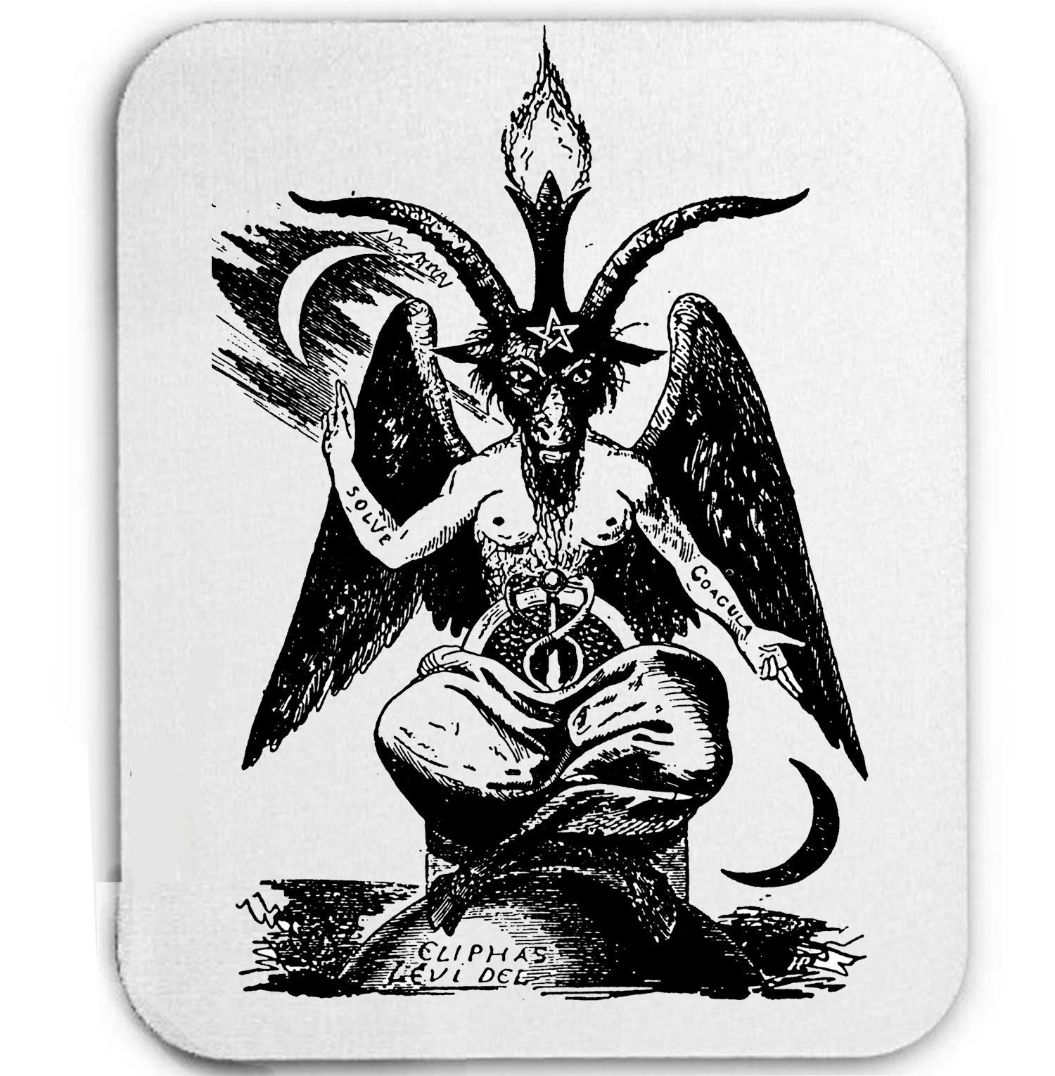 Primary image for BAPHOMET EVIL SPIRIT - MOUSE MAT/PAD AMAZING DESIGN