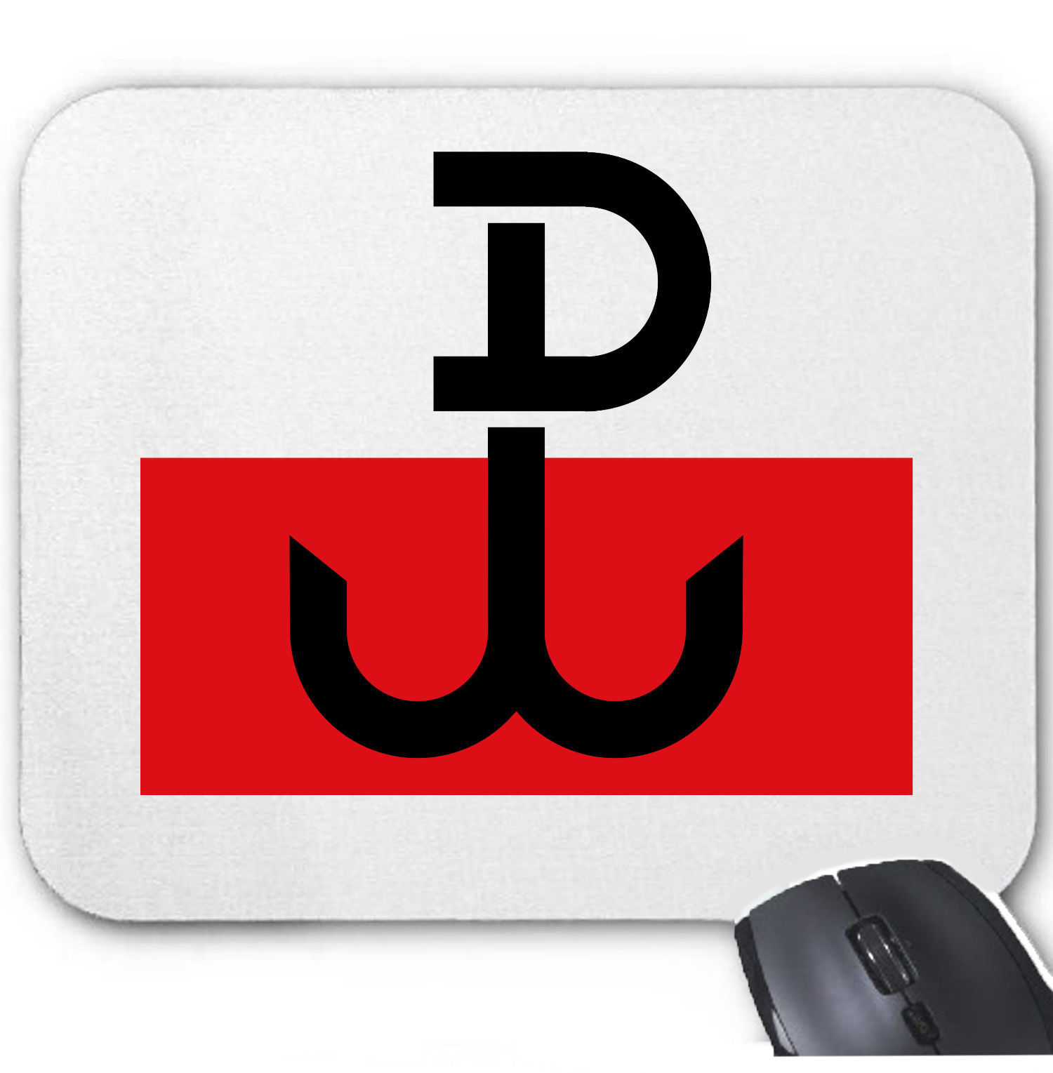 Primary image for POLISH RESISTANCE FLAG WWII - MOUSE MAT/PAD AMAZING DESIGN