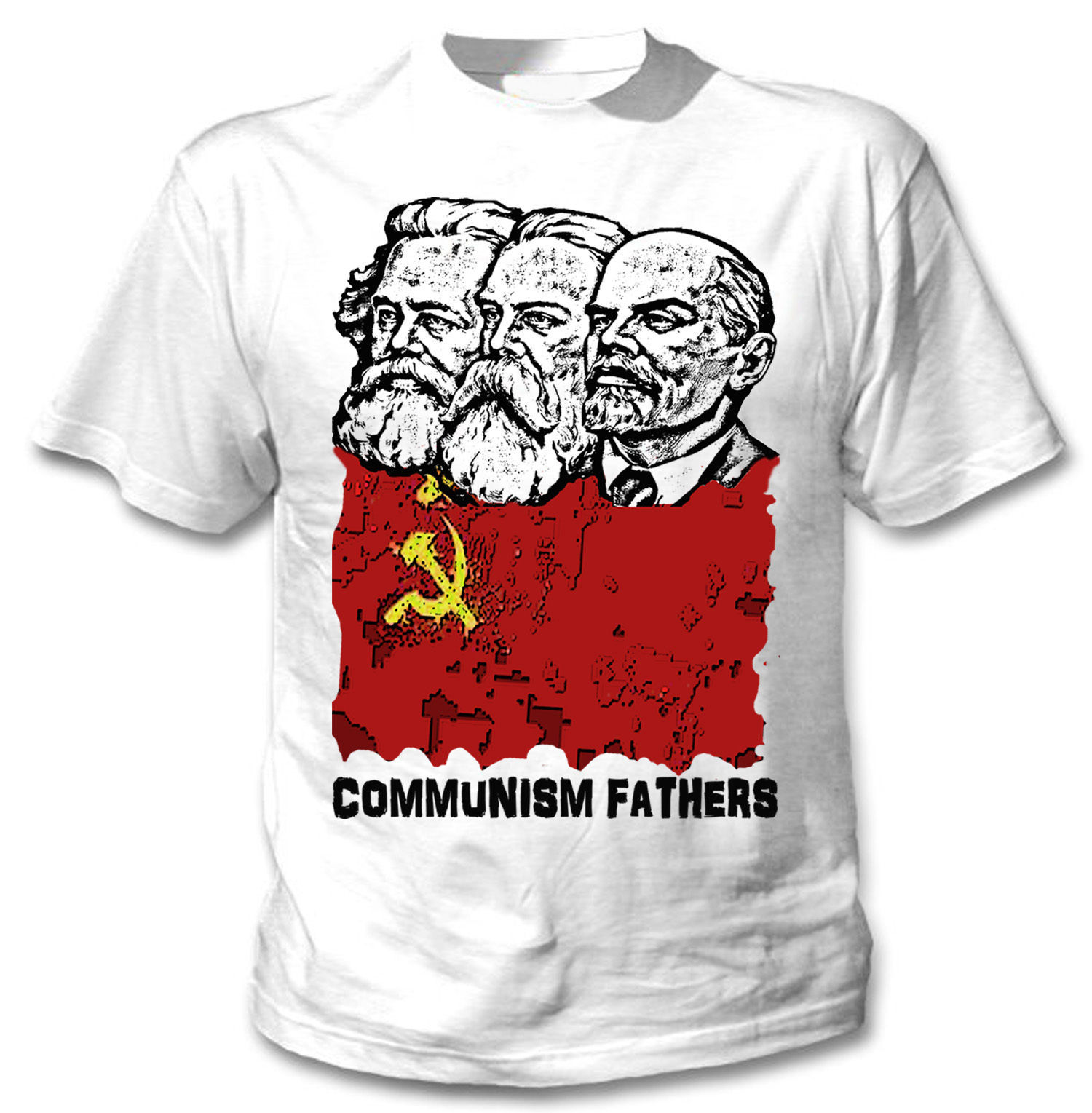 Primary image for COMMUNISM FATHERS  - NEW AMAZING GRAPHIC TSHIRT- S-M-L-XL-XXL