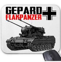Gepard Flakpanzer Germany Wwii   Mouse Mat/Pad Amazing Design - $13.94