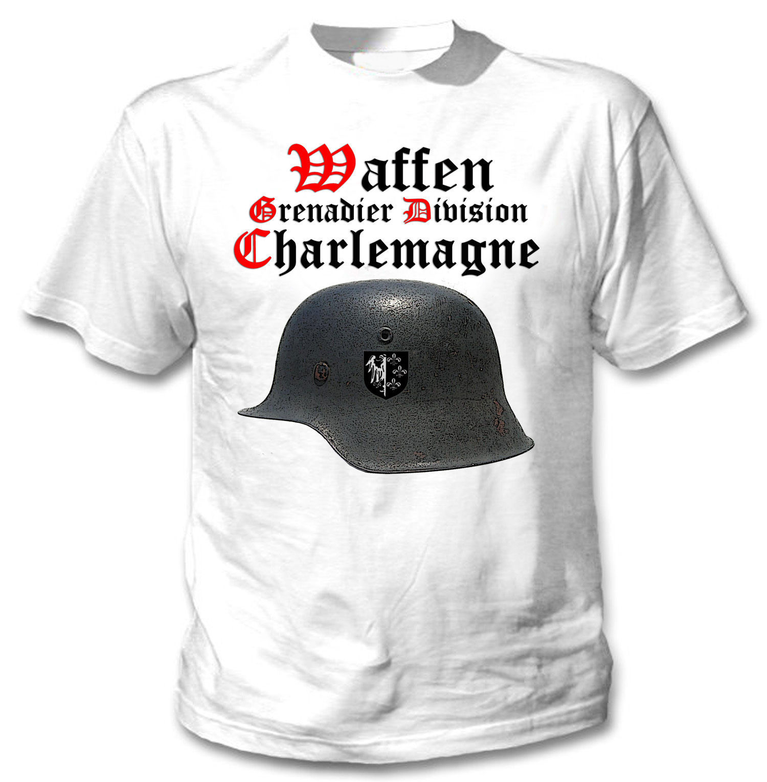 Primary image for WAFFEN GRENADIER DIVISION CHARLEMAGNE - NEW AMAZING GRAPHIC TSHIRT