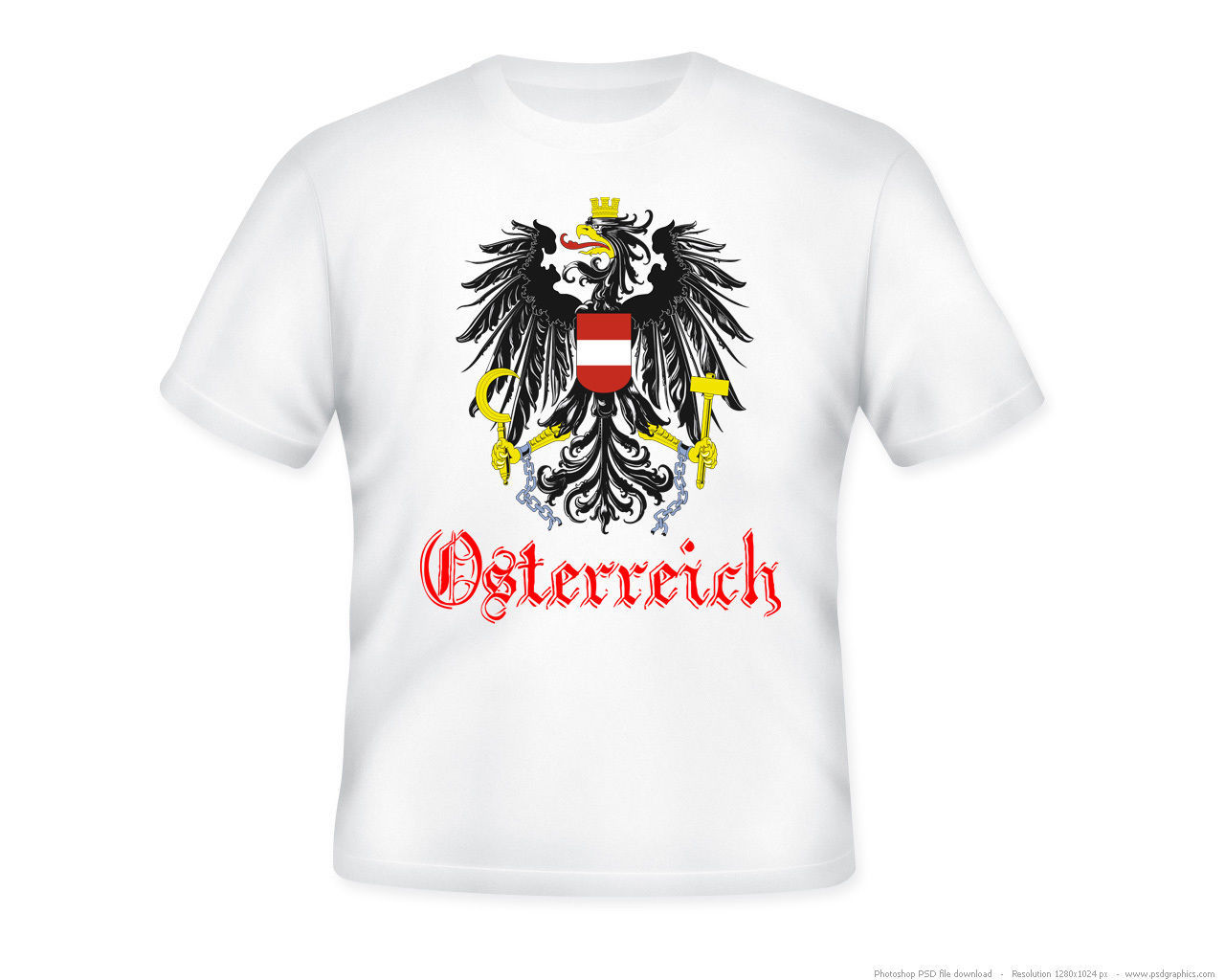Primary image for AUSTRIA -  NEW AMAZING GRAPHIC QUOTE T-SHIRT - S-M-L-XL-XXL