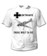 FOCKE WULF TA-152 WWII PLANE - NEW AMAZING GRAPHIC TSHIRT- S-M-L-XL-XXL - $23.13