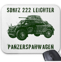 Sdkfz 222 Leichter Germany Wwii   Mouse Mat/Pad Amazing Design - $13.64