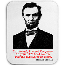 LINCOLN ABRAHAM AMERICAN PRESIDENT - MOUSE MAT/PAD AMAZING DESIGN - $12.36