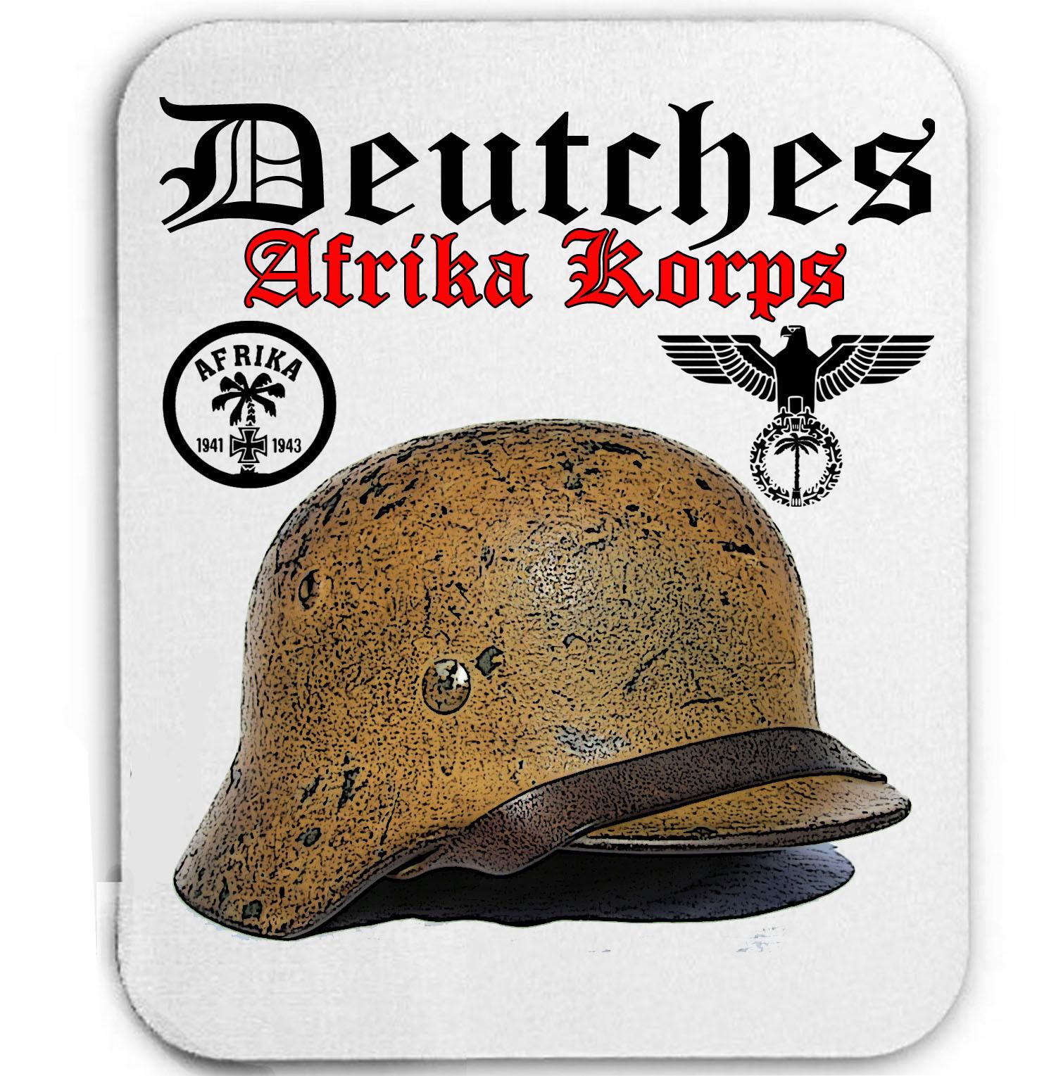 DEUTCHES AFRIKA KORPS GERMANY WWII - MOUSE MAT/PAD AMAZING DESIGN - $14.05