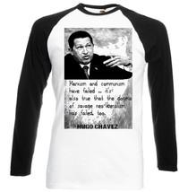 Hugo Chavez Quote 3    New Baseball Tshirt S M L Xl Xxl - $27.61