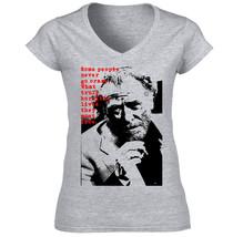 Bukowski Charles 9   Cotton Grey Tshirt S M L Xl Xxl - $25.89