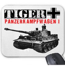Tiger I Germany Wwii Tank   Mouse Mat/Pad Amazing Design - $13.87