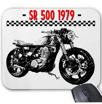 Japanese Motorcycle Sr 500 1979   Mouse Mat/Pad Amazing Design - $13.64