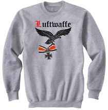 Luftwaffe Germany Wwii    New Graphic Sweatshirt  S M L Xl Xxl - $47.49