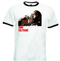 John Coltrane   Black Ringer Tshirt S M L Xl Xxl - $26.20