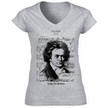 Ludwig Van Beethoven   Cotton Grey Tshirt S M L Xl Xxl - $35.56