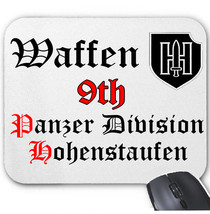 WAFFEN HOHENSTAUFEN GERMANY WWII - MOUSE MAT/PAD AMAZING DESIGN - $15.09