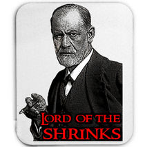 Sigmund Freud Lord Of The Shrinks   New  Mouse Mat/Pad Amazing Design - $13.87