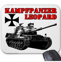 Kampfpanzer Leopard Germany Wwii   Mouse Mat/Pad Amazing Design - $12.36