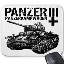 Panzer Iii Germany Wwii   Mouse Mat/Pad Amazing Design - $13.87
