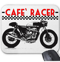 Japanese Cafe` Racer 550 Motorcycle   Mouse Mat/Pad Amazing Design - $13.87