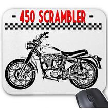 ITALIAN MOTORCYCLE 450 SCRAMBLER 1970  - MOUSE MAT/PAD AMAZING DESIGN - $12.22