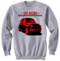Italian Vintage Car 500 Racing   New Graphic Sweatshirt  S M L Xl Xxl - $33.08