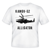 Kamov 52 Alligator Russian Helicopter   New Graphic Tshirt   S M L Xl Xxl - $36.80