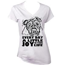 A Little Joy British Bulldog B   New Amazing Graphic T Shirt  S M L Xl Xxl - $26.23