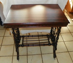 Mahogany Stick and Ball Parlor Table / Center Table  (T435) - $699.00