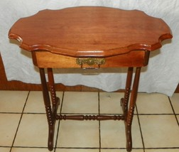 Solid Walnut  Slab Top Turtle Top Entry Table with Protective Glass Top - $499.00