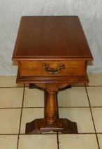 Maple Trestle End Table by Styline Ferdinand  (T368) - $399.00