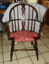 Walnut Windsor Armchair Desk Chair  (AC152) - $399.00