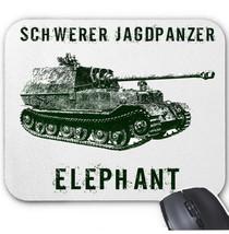 SCHWERER JAGDPANZER ELEPHANT GERMANY WWII - MOUSE MAT/PAD AMAZING DESIGN - $13.95