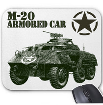 M20 ARMORED CAR USA WWII - MOUSE MAT/PAD AMAZING DESIGN - $13.94