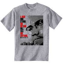Malcolm X Leader Quote   New Amazing Graphic Grey Tshirt  S M L Xl Xxl - $24.17