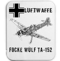 Luftwaffe Focke Wulf Ta 152 Germany Wwii   Mouse Mat/Pad Amazing Design - $13.82