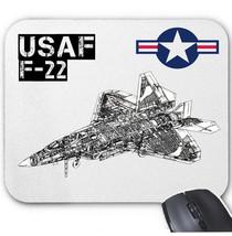 Usaf F 22 Raptor   Mouse Mat/Pad Amazing Design - $13.94