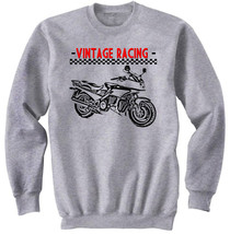 Japanese Vintage Racing Motorcycle   Amazing Graphic Grey Tshirt  S M L Xl Xxl - $24.17