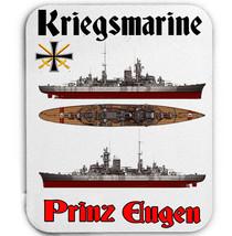 Kriegsmarine Prinz Eugen    New  Mouse Mat/Pad Amazing Design - $11.99