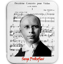 Serge Prokofiev    Mouse Mat/Pad Amazing Design - $13.94