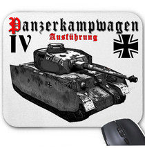 Panzerkampfwagen Iv Germany Wwii   Mouse Mat/Pad Amazing Design - $15.14