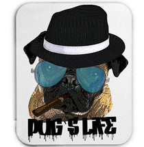 PUG GANGSTER STYLE - MOUSE MAT/PAD AMAZING DESIGN - $11.99