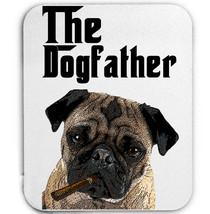 PUG DOGFATHER 2 - MOUSE MAT/PAD AMAZING DESIGN - $13.95